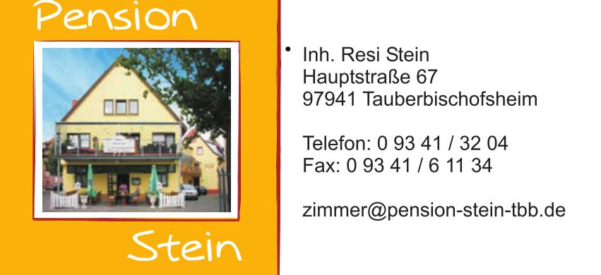 Pension Stein