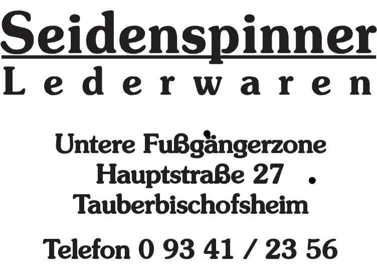 zk Seidenspinner Leder