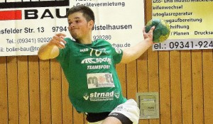 Tizian Hartmann setzt sich hier souverän durch. Verletzungsbedingt ist sein Einsatz am Samstag noch fraglich.