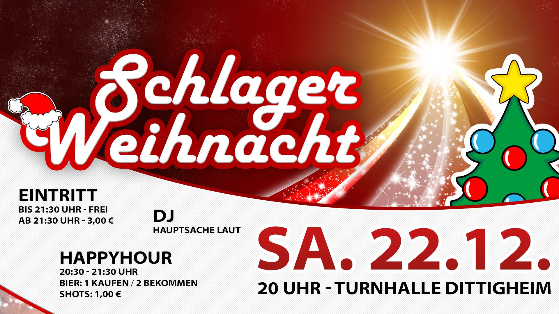 Schlagerweihnacht Party