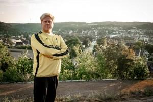 Mike Biesinger Tormann der HSG Dittigheim/Tauberbischofsheim