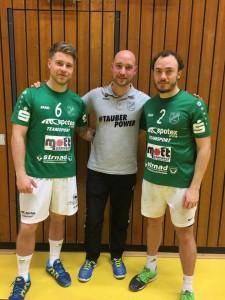 Michael Reinhard und Felix Rother von der DJK Waldbüttelbrunn