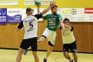 Florian Berzina, Spieler der HSG Dittigheim/Tauberbischofsheim