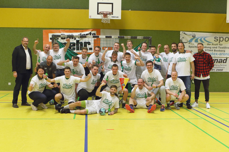 Mit einem 27:23 Erfolg über den TSVG Malschenberg sicherte sich die HSG Dittigheim/Tauberbischofsheim bereits zwei Spieltage vor Saisonende die Landesliga Meisterschaft.