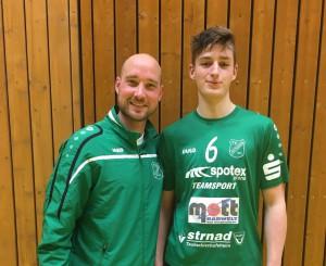 Jonathan Mohr schließt sich in der kommenden Saison ein weiterer Spieler der HSG an