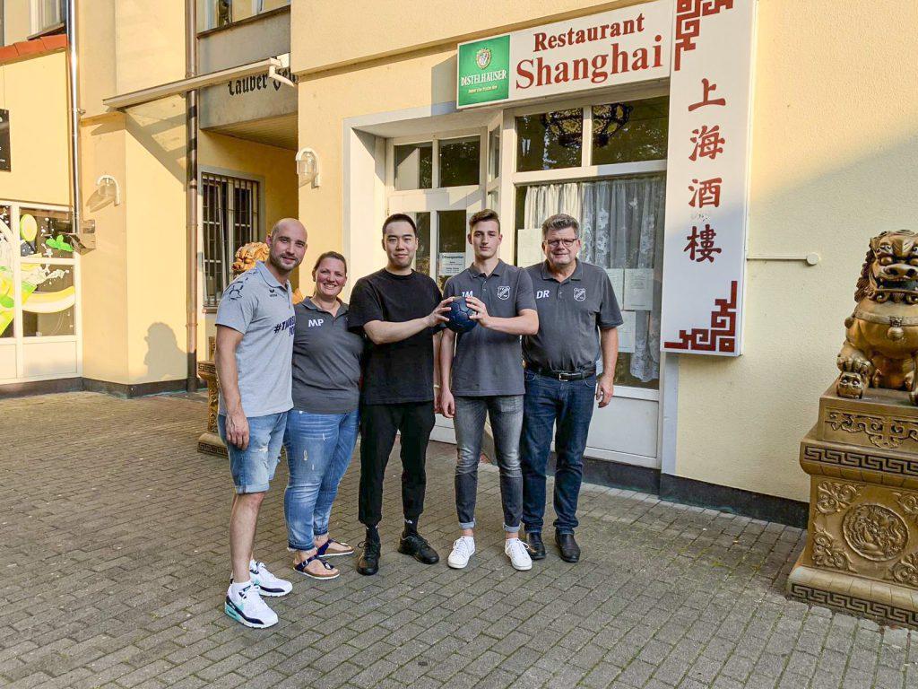 """""""China Restaurant Shanghai"""" steigt bei der HSG mit ein!"""