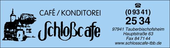 s Schlosscafe
