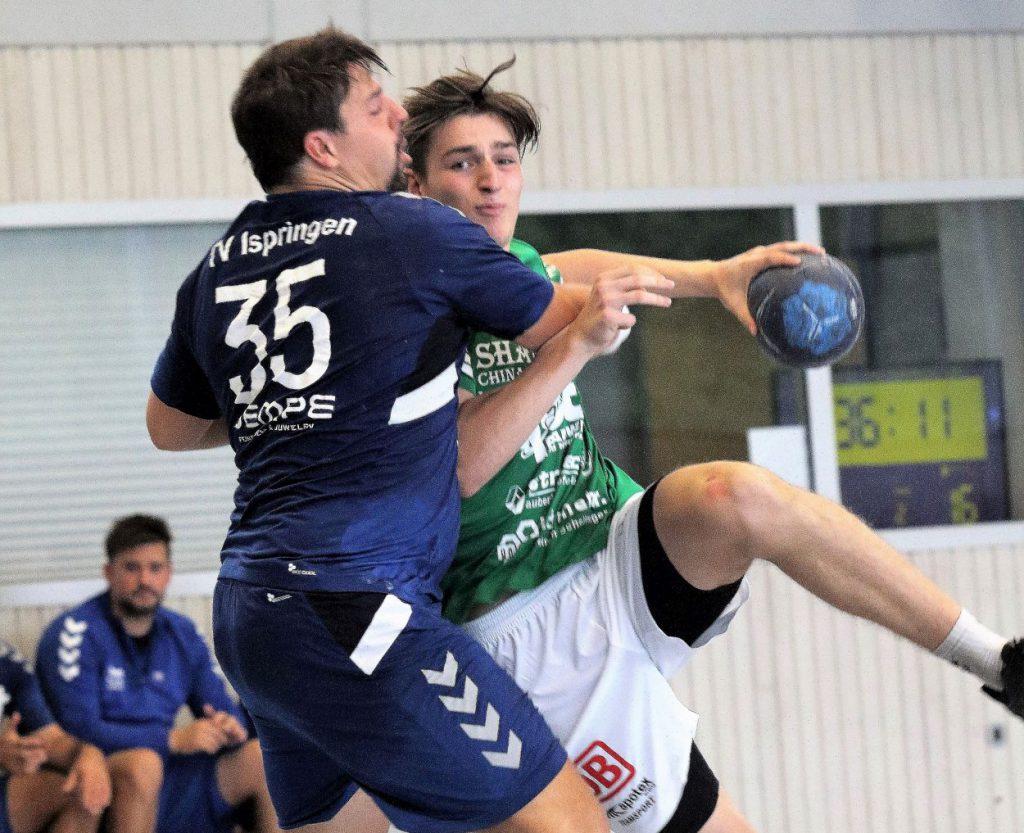 Bild, Jutta Muck: Jonathan Mohr markierte drei Treffer, aber auch er konnte die Niederlage in Dossenheim nicht verhindern.