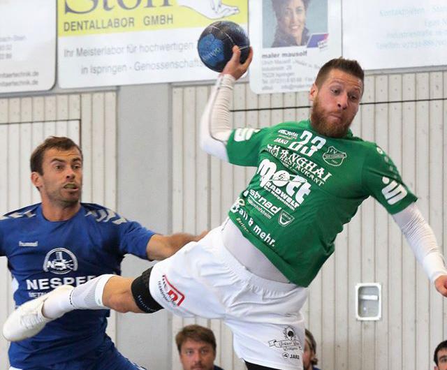 Niklas Küpper überragt beim Auswärtssieg der HSG