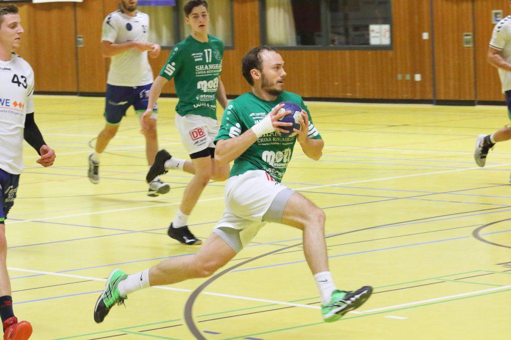 Bild, Jutta Muck: Auch Felix Rother konnte trotz seiner 6 Treffer die Niederlage seines Teams nicht verhindern.