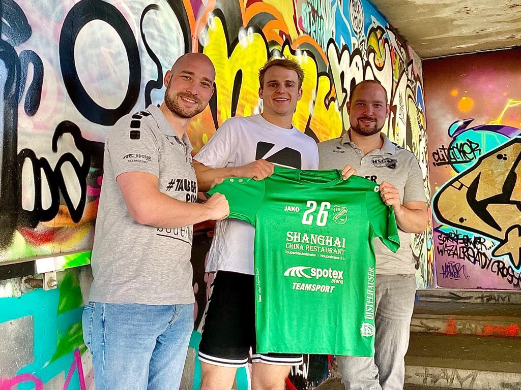 Moritz Reichhard - Ein Straßenhandballer für die HSG