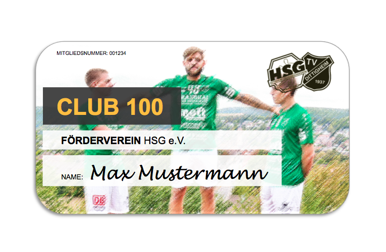 Club100 Karte TV Dittigheim e.V.