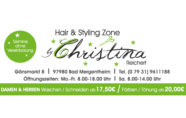 Hair & Styling Zone Christina