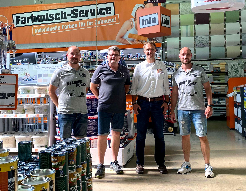 Baumarkt in TBB unterstützt weiterhin die HSG