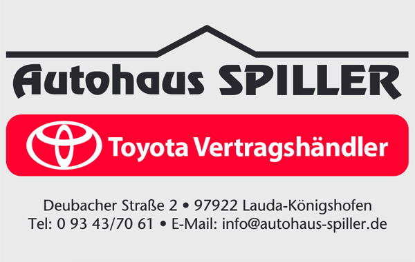 Autohaus Spiller - Toyota Partner vor Ort